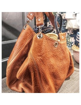 NOMADE CUIR BUBBLE CAMEL