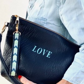 WILD LOVE, BUBBLE NAVY, ANSE CUIR