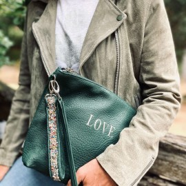 POCHETTE WILD GREEN LOVE
