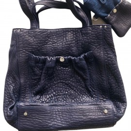 MISTER J CUIR BUBBLE NAVY
