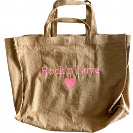 SHOPPERBAG XXL UNI MOKA, ROCK'N LOVE PINK