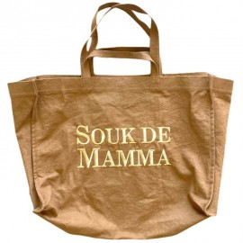 SHOPPERBAG XXL UNI CRAFT, SOUK DE MAMMA DORE
