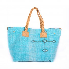 sac Thiyya kilim turquoise