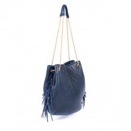 sac Dune XL cuir bubble black
