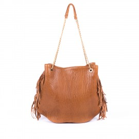 sac Dune XL cuir bubble camel