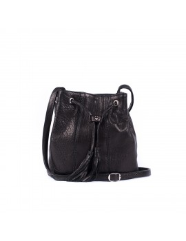 JOY cuir bubble noir